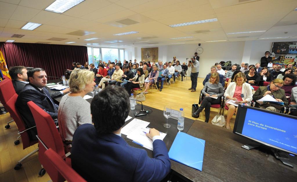 A Deputación da Coruña acolle a presentación do Plan Juncker en Galicia