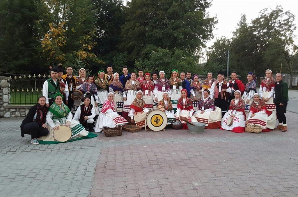 Orballo de Pontedeume gaña o Piolet de Ouro no festival folk de Zakopane (Polonia)