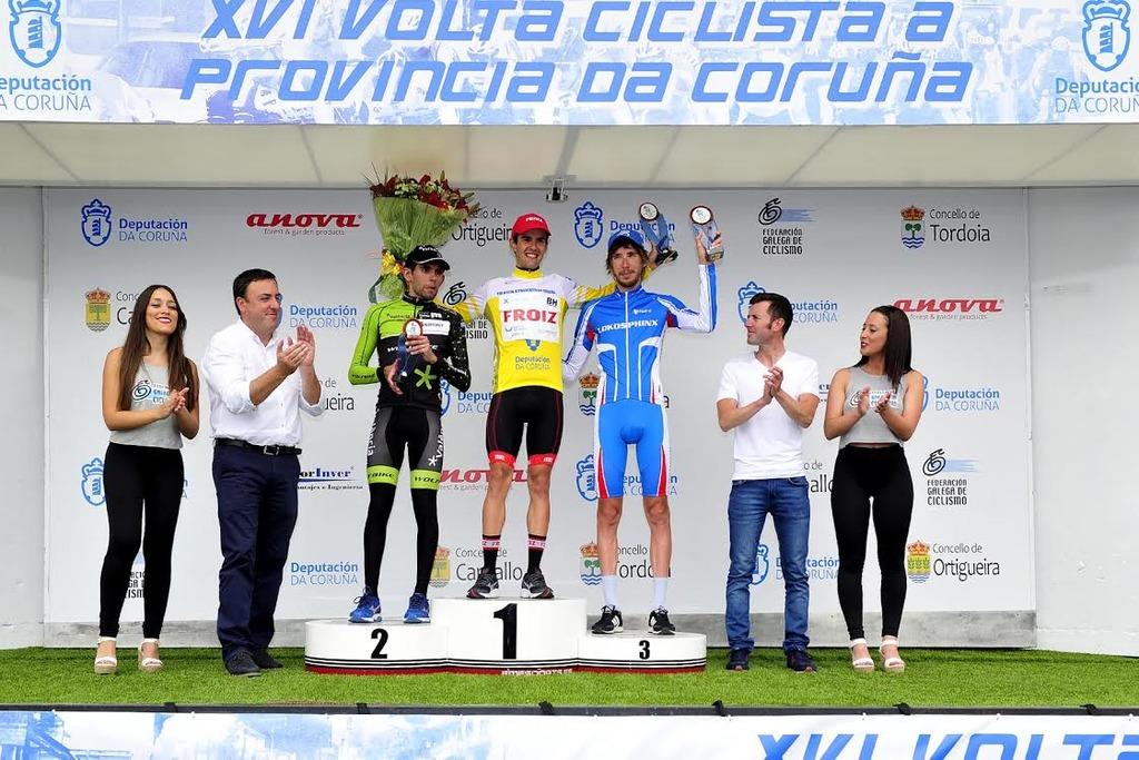 Martín Lestido proclámase en Ortigueira vencedor da Volta Ciclista á Provincia da Coruña 2017