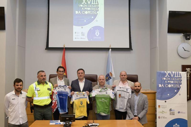 As Pontes, Muros e Oroso acollerán esta fin de semana a 18ª edición da Volta Ciclista á Provincia da Coruña