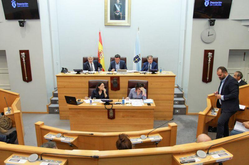 A Deputación da Coruña reclama o cambio do modelo de financiamento municipal por parte do Estado e da Xunta de Galicia