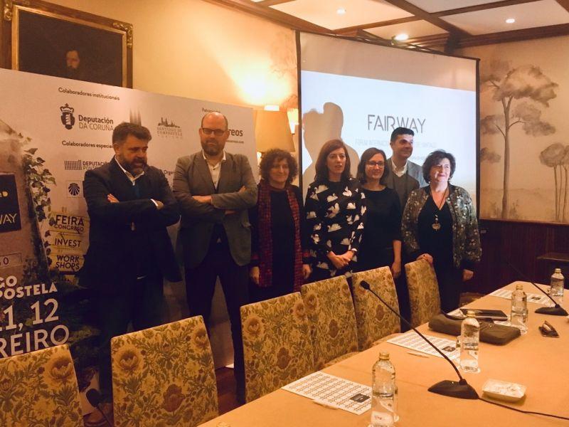 A Deputación da Coruña apoia o Fairway como grande evento de promoción dos Camiños