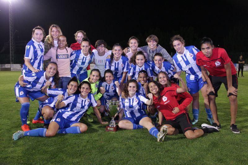 O R.C. Deportivo da Coruña gaña a III Copa Deputación de Fútbol Feminino