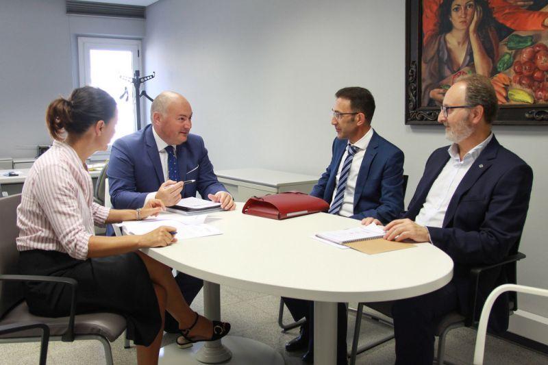 A Deputación considera clave traballar na promoción industrial e tecnolóxica da provincia