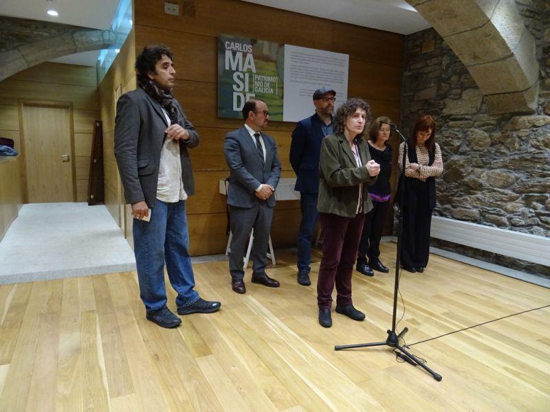 Goretti Sanmartín celebra que o legado de Carlos Maside pase a formar parte do patrimonio público de Santiago de Compostela