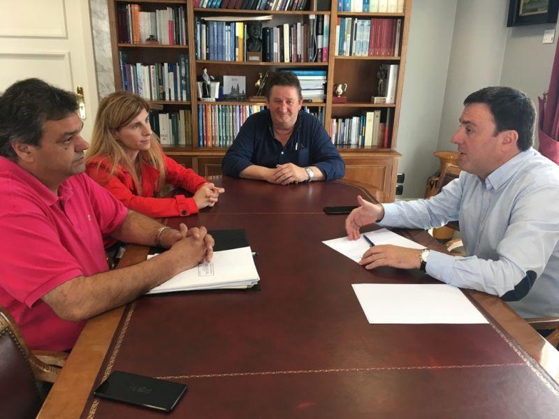 A Deputación financiará a rehabilitación e a posta en valor do muíño de vento de Laxe