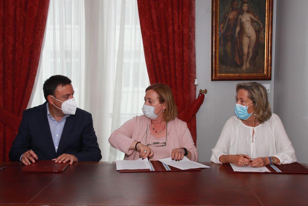 A Deputación da Coruña destina 60.000 euros para apoiar o Banco de Alimentos