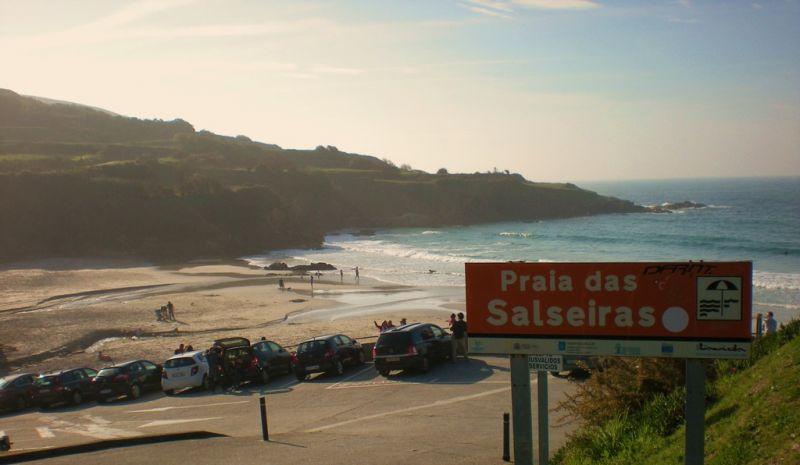 A Deputación da Coruña destina 60.000 € para a mellora dos accesos á praia das Salseiras, na Laracha