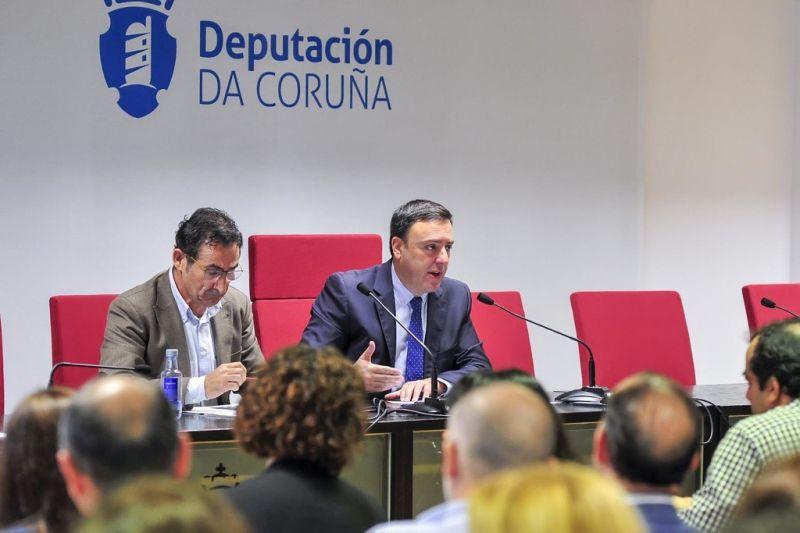 González Formoso presenta o novo programa da Deputación para acelerar a transformación dixital nos pequenos concellos da provincia