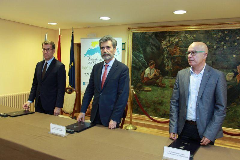 A Deputación da Coruña colabora na XXII edición da Escola de Verán do Poder Xudicial