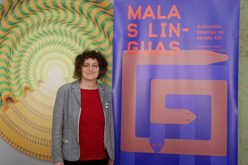 Goretti Sanmartín presenta a iniciativa 'Malas linguas' en resposta ao
