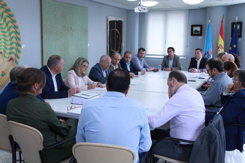 González Formoso anuncia a concesión de 1,86 millóns de euros de fondos FEDER para construír a primeira vía verde da provincia da Coruña