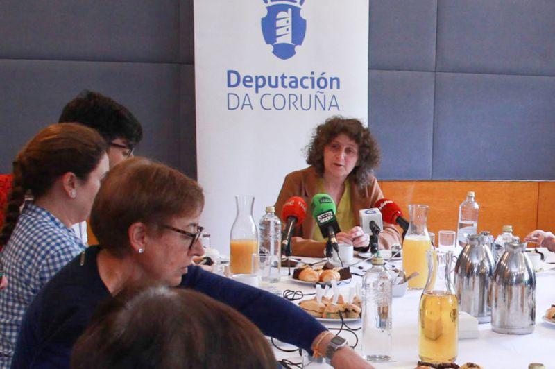 Goretti Sanmartín despídese da Deputación da Coruña co balance dunha ación política