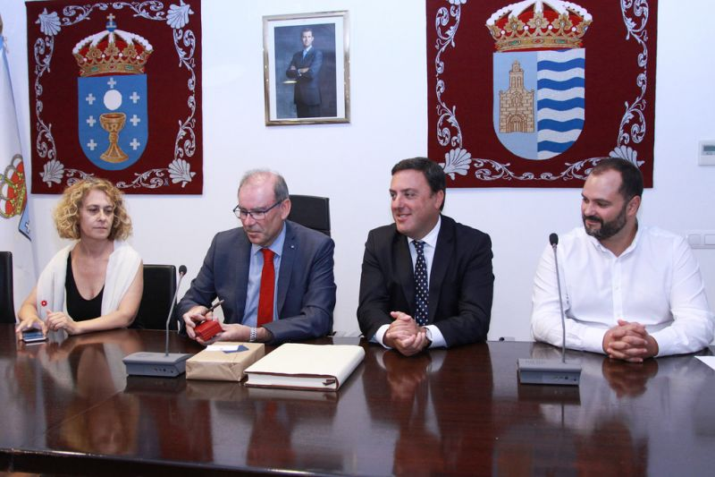"""A Deputación da Coruña e o Concello de Miño colaboran para """"encauzar"""" e """"buscar solucións"""" ao problema da débeda do caso Fadesa"""