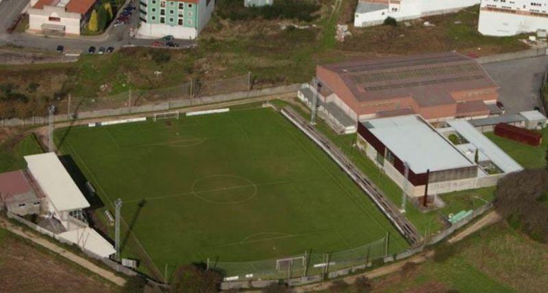 O Plan único da Deputación financia con 417.765 euros as obras de remodelación do campo de fútbol de Fontenla, en Santa Comba