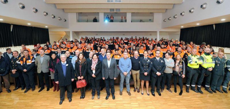 A Deputación destina 110.000 euros para apoiar ás agrupacións de Protección Civil da provincia