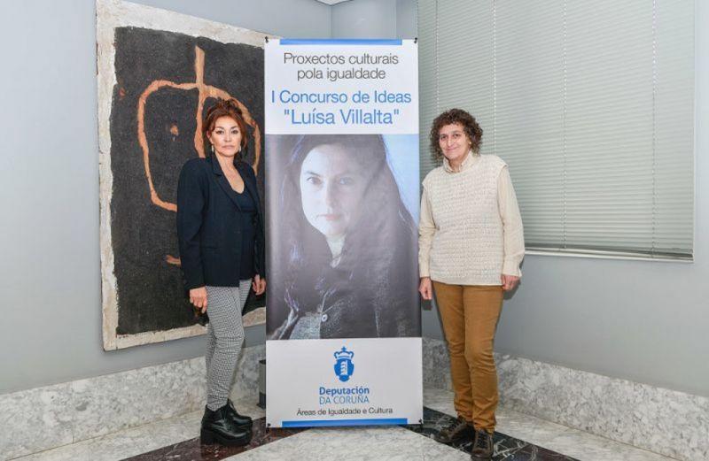 A Deputación da Coruña avanza na promoción de proxectos culturais pola igualdade coa convocatoria do Concurso Luísa Villalta