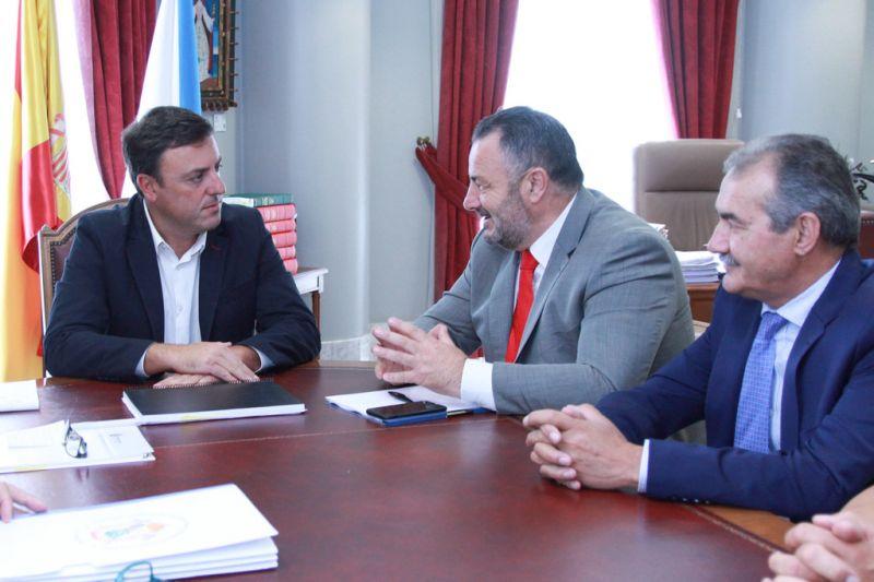 A Deputación de León interésase no modelo de xestión do Consorcio Contraincendios da Coruña para aplicalo na súa provincia