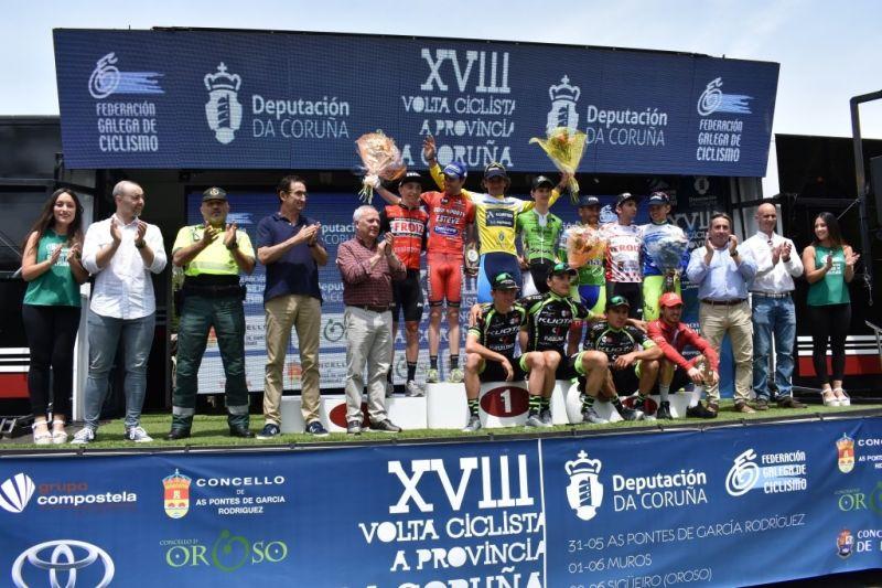 Raúl García de Mateos gaña a Volta Ciclista á Provincia da Coruña