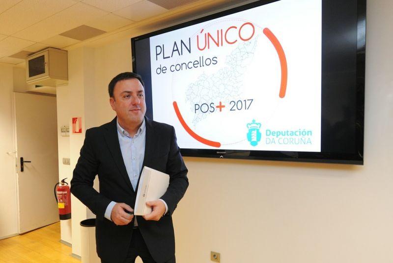 O Plan Único da Deputación da Coruña financia xa 551 obras este ano nos concellos da provincia