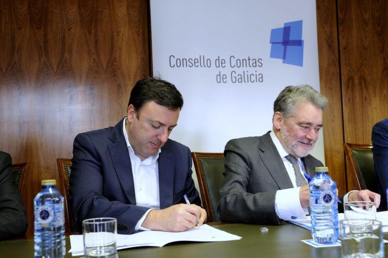A Deputación da Coruña suscribe un protocolo co Consello de Contas para a prevención da corrupción