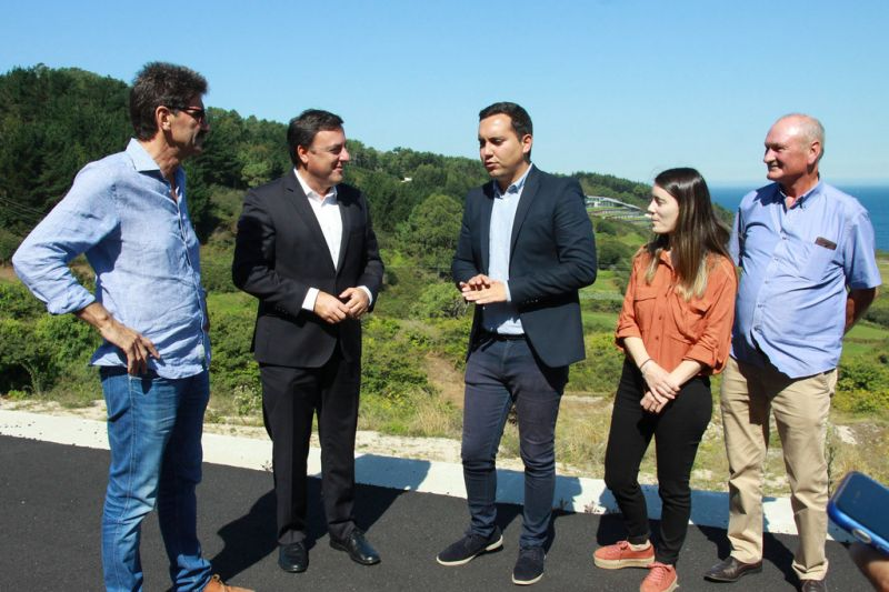 A Deputación remata as obras de ampliación e mellora da estrada do Parador de Muxía