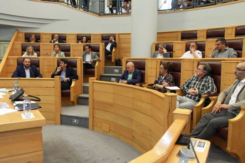 O pleno da Deputación da Coruña aproba a proposta de organización do goberno provincial