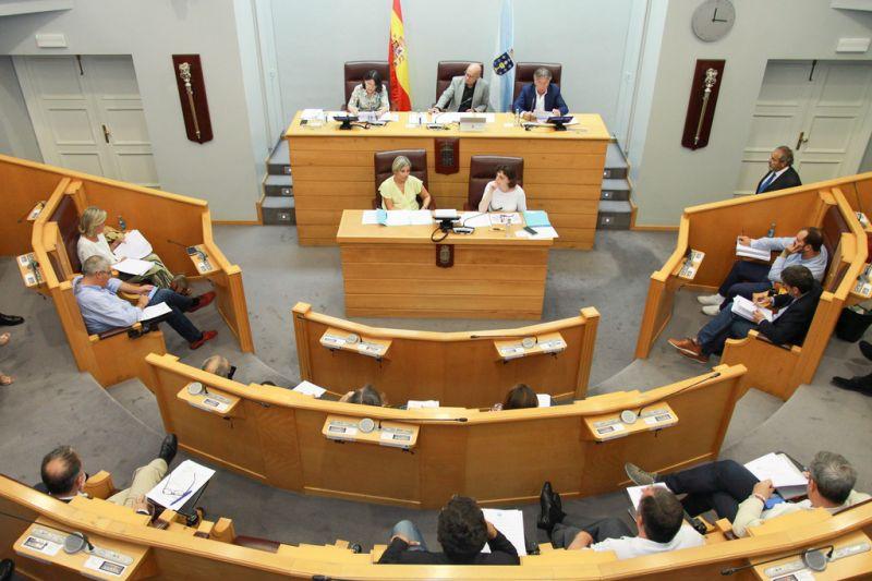 A Deputación insta á Xunta, Goberno e UE a tomar medidas para garantir a transición da central térmica das Pontes