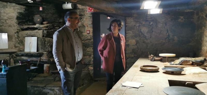 A Deputación estuda  novas vías de colaboración co Concello de Malpica para a promoción da olaría como sector económico, cultural e turístico