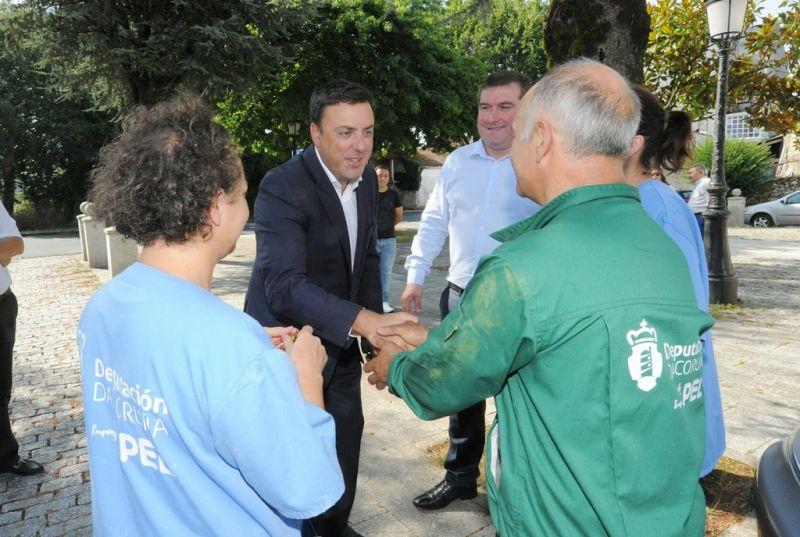 A Deputación da Coruña destina 3 millóns de euros para impulsar 500 contratacións nos concellos coruñeses en 2019